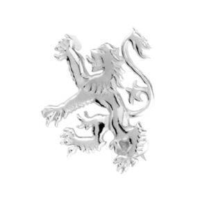 Scottish Lion Silver Brooch 0588